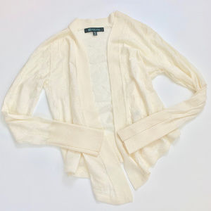 Title Nine Right Wrap Wool Cardigan Sweater